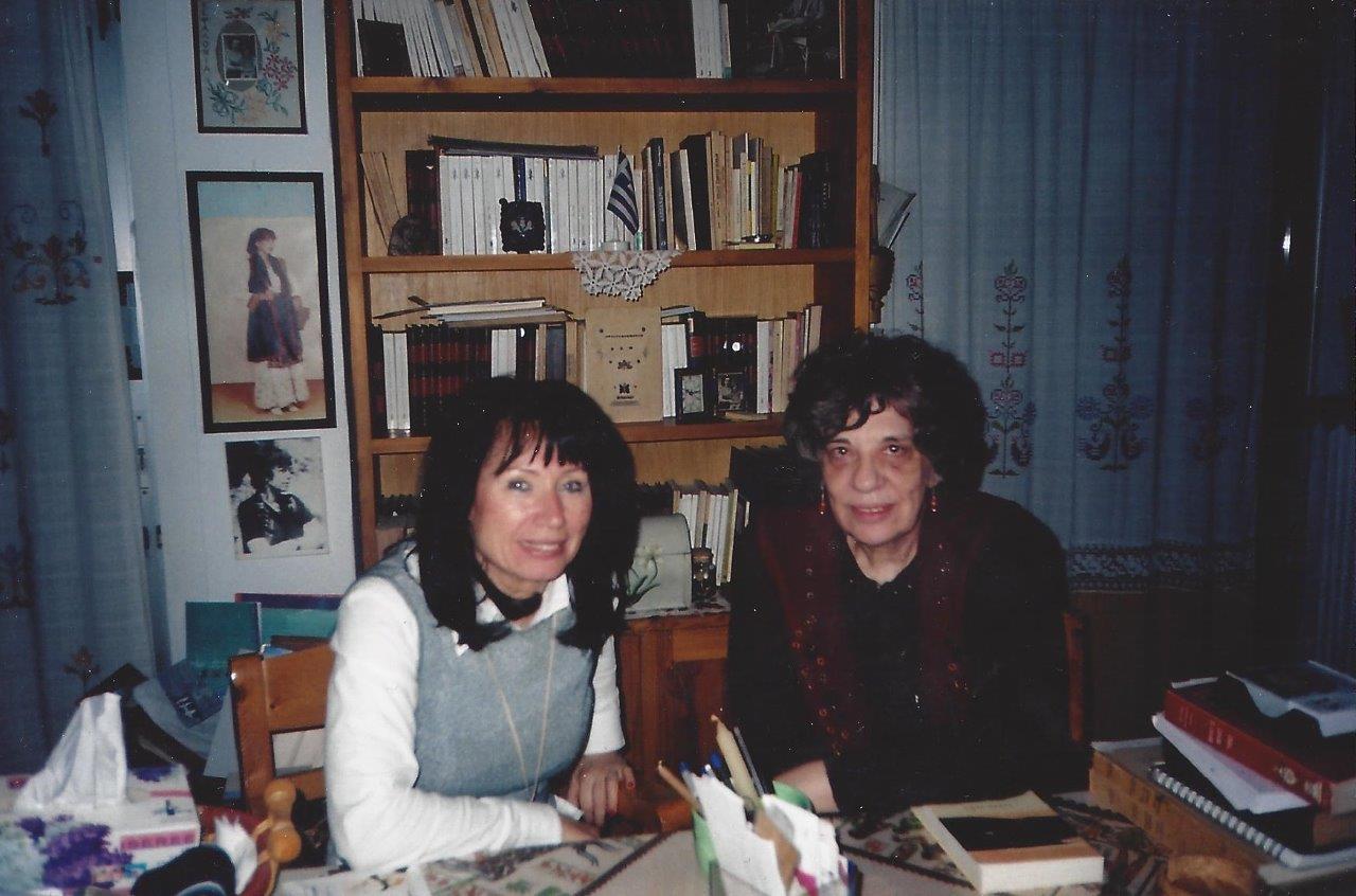 Ελένη Λαδιά: συνέντευξη στην Τούλα Ρεπαπή